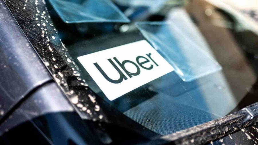 Adesivo da Uber
