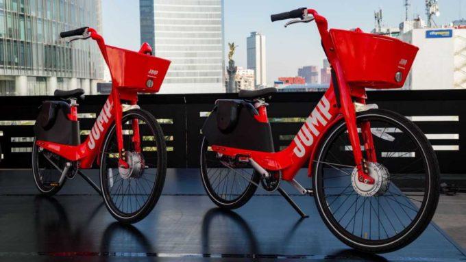 Bicicletas Uber JUMP