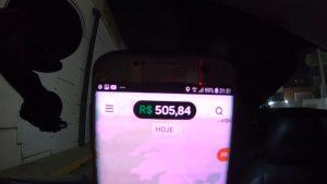 Faturou 500 reais na Uber